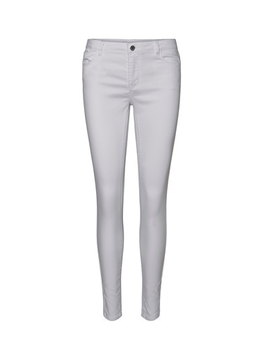 Fabrika Copenhagen Fabrika x Copenhagen Skinny Fit Beyaz Denim Pantolon Beyaz